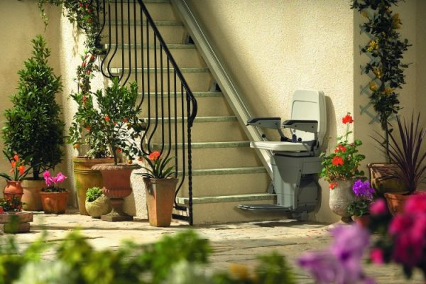 Stannah stairlifts for outdoor use